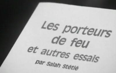 Poésie Salah Stetié